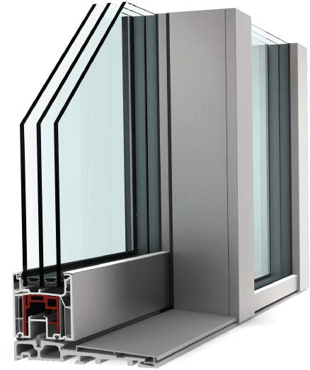 Internorm KS430 Lift & Slide Door UPVC